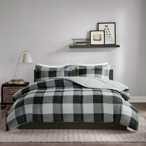 Bryce 3M Scotchgard Down Alternative Comforter Mini Set - Full/Queen