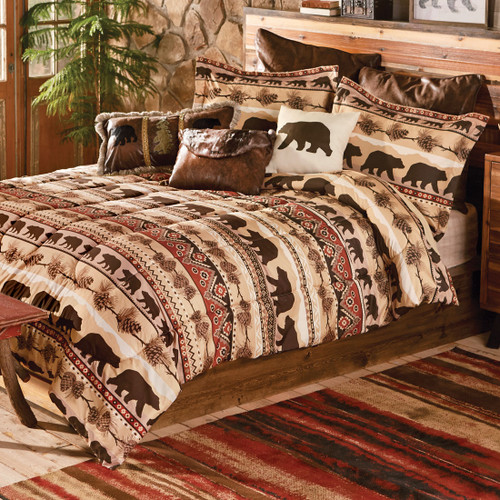 Mountainside Bear Bedding Collection - CLEARANCE