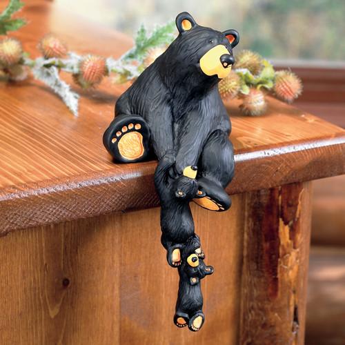 Black Bear Shelf Sitter