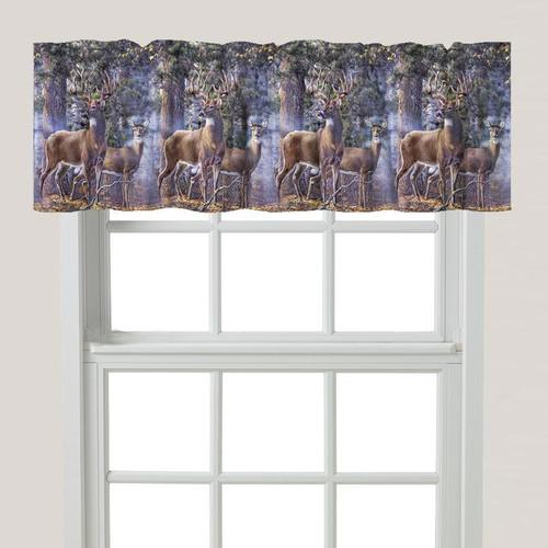 Buck & Doe Window Valance