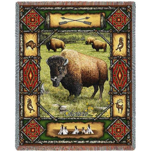 Buffalo Lodge Blanket