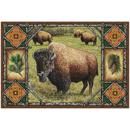 Buffalo Lodge Placemat