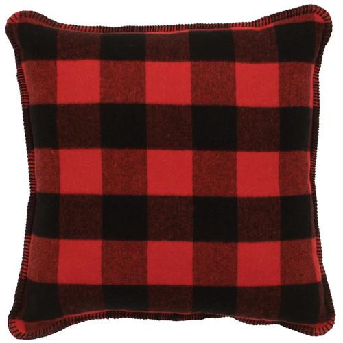 Ponderosa Buffalo Plaid Pillow