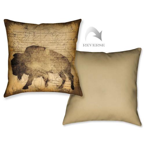 Buffalo Script Pillow