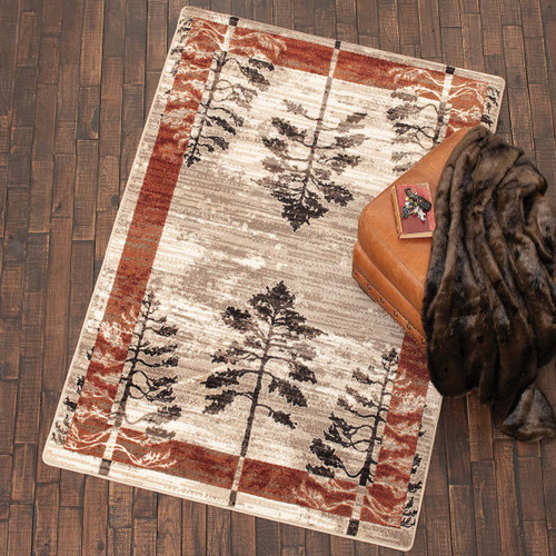 Mystic Woods Rust Rug Collection