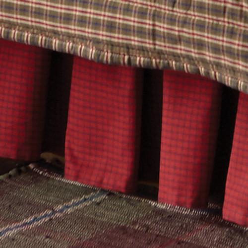 Cozy Cabin Bedskirt - Queen - BACKORDERED UNTIL 11/25/2021