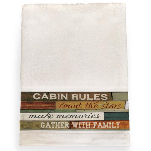 Cabin Getaway Bath Towel