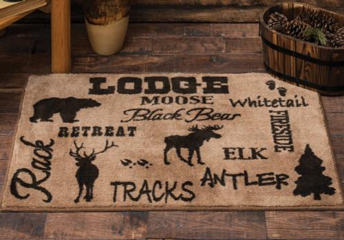 Cabin Life Lodge Kitchen/Bath Rug