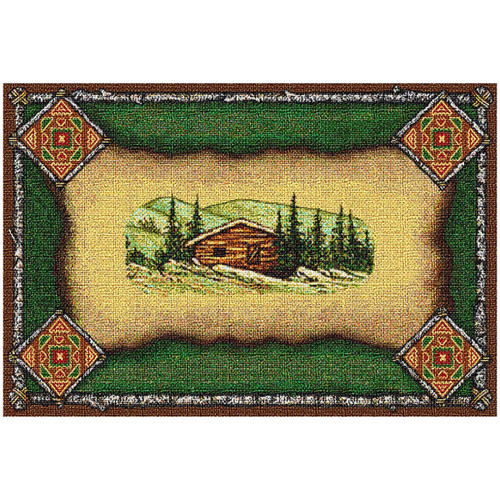 Cabin Lodge Placemat