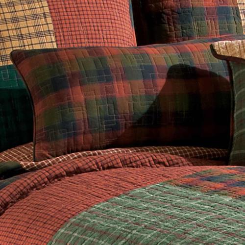 Cabin Plaid Rectangular Pillow