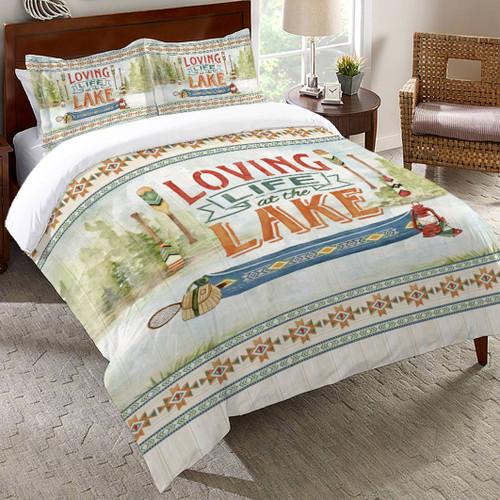 Camp Crystal Lake Comforter - King
