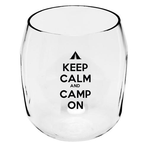 Camp On Wine Tumblers - Set of 4