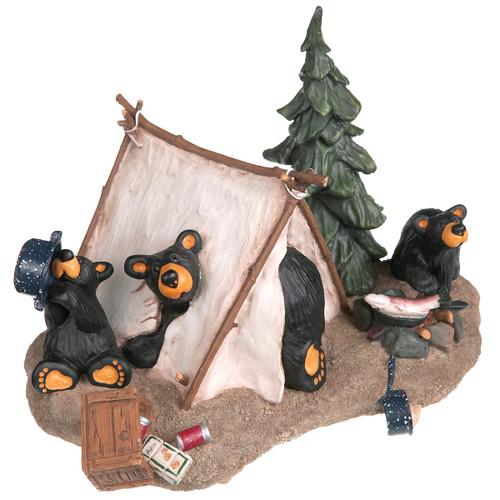 Camp Runamuck Bear Figurine