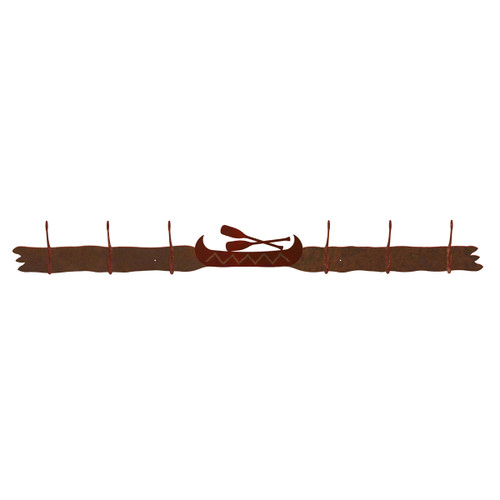 Canoe 6 Hook Coat Rack