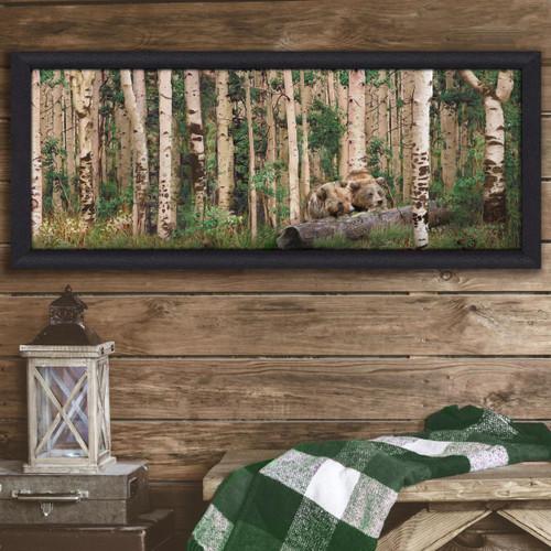 Personalized Aspen Bear Wall Art