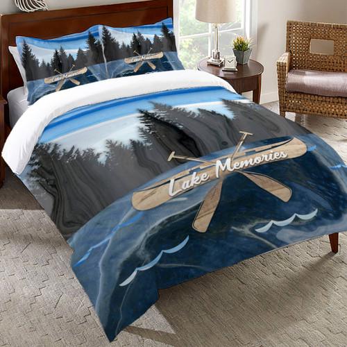 Canoe Memories Comforter - Queen