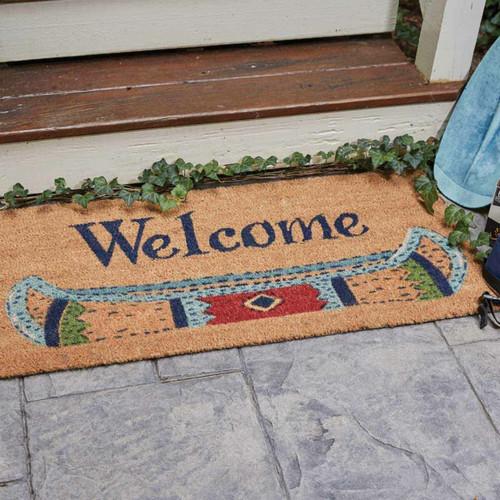 Canoe Welcome Doormat
