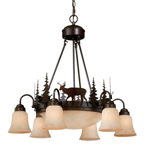 Canyon Downlight Chandelier