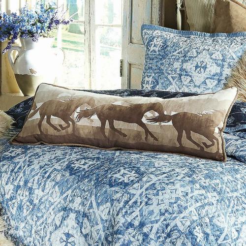 Canyon Sky Horse Pillow