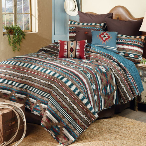 Carrizo Springs Quilt Set - Twin