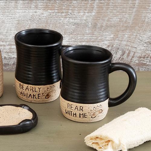 Cascade Bear Mugs - Set of 2