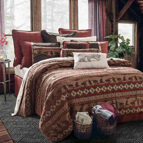 Cascade Lodge Bed Set - Super Queen
