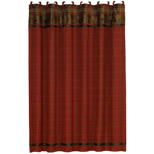 Cascade Lodge Shower Curtain