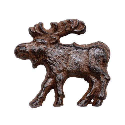 Cast Iron Rust Moose Knob