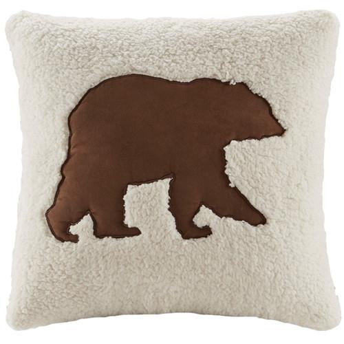 Chandler Plaid Bear Pillow