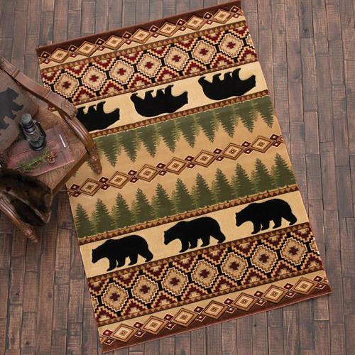 Ponderosa Bear Rug Collection