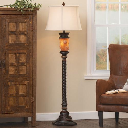 Pinecone Ridge Floor Lamp