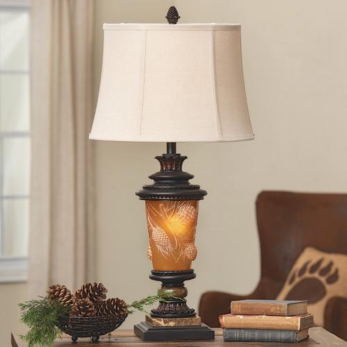 Pinecone Ridge Table Lamp