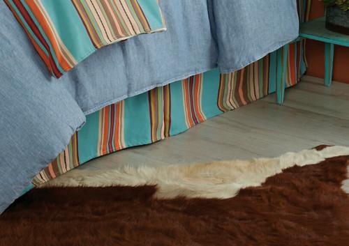 Free Spirit Stripe Bedskirt - Queen