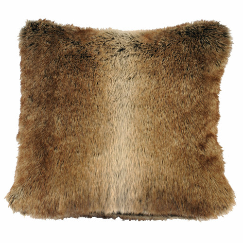 Chinchilla Faux Fur Euro Sham