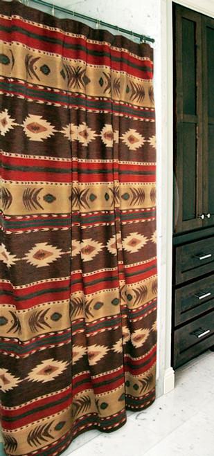 Desert Horizon Southwest Shower Curtain