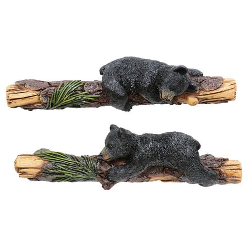 Climbing Bears Cabinet Pulls - Set of 2