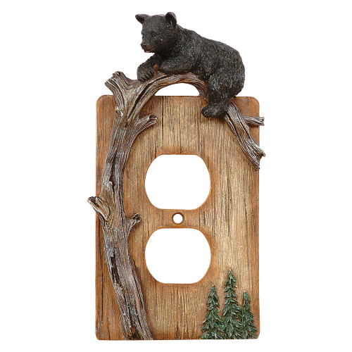 Climbing Bears Outlet Cover