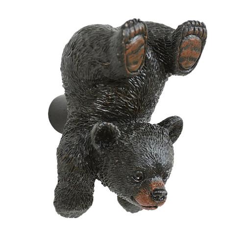 Climbing Black Bear Cabinet Knob