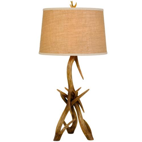 Coleman Antler Table Lamp