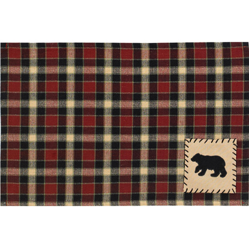 Concord Black Bear Placemats - Set of 4