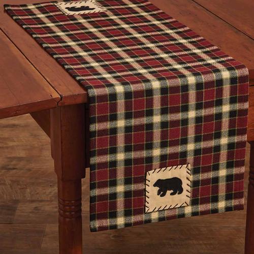 Concord Black Bear Table Runner