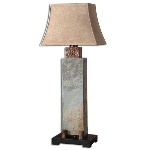 Copper Valley Tall Table Lamp