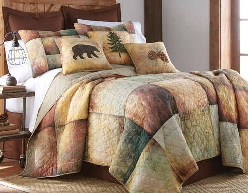 Country Cabin Quilt - King