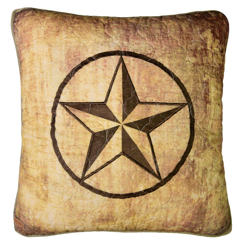 Country Cabin Star Pillow