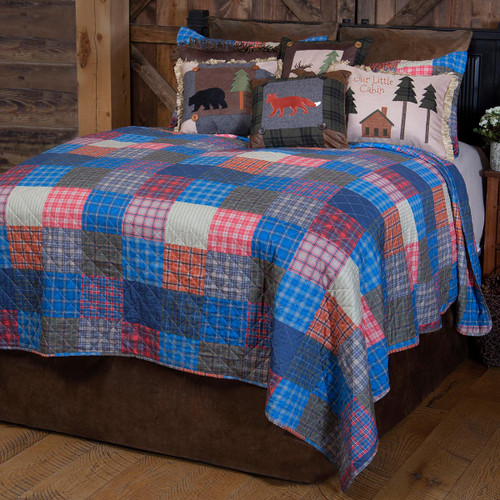 Country Life Quilt Set - Queen