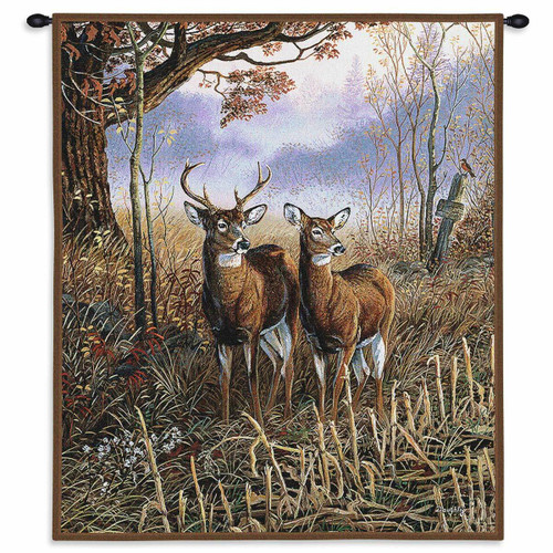 Country Treasures Wall Tapestry