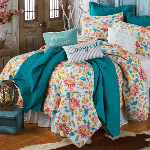 Cowgirl Dreams Quilt - Full