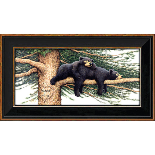 Cozy Bears Personalized Print - Small
