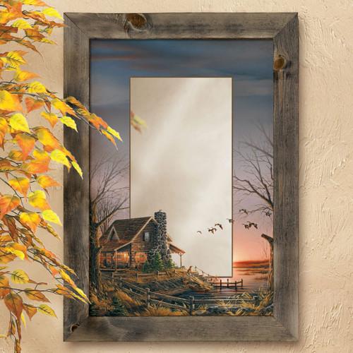 Cozy Cabin Wall Mirror