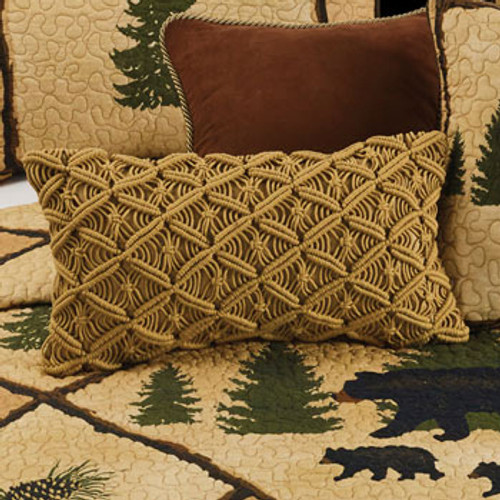 Cozy Corners Crochet Pillow